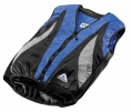 Evaporative Cycling Cool Vest - Blue/Black/Silver - S