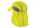 High Performance Hat with Neck Shade - Yellow