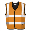 Max - Safety Evaporative Cooling Vest - Orange - Large